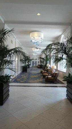 The Don CeSar: One of the hallways