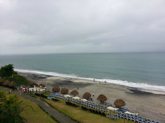Sheraton Bijao Beach Resort: Beach View