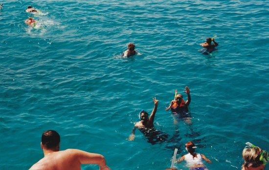 Îles Giftoun : Snorkling vid Giftun Island