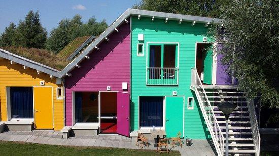 Camping Zeeburg: Eco cabins