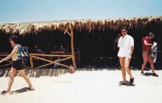 Îles Giftoun : Restaurangen på Giftun Island