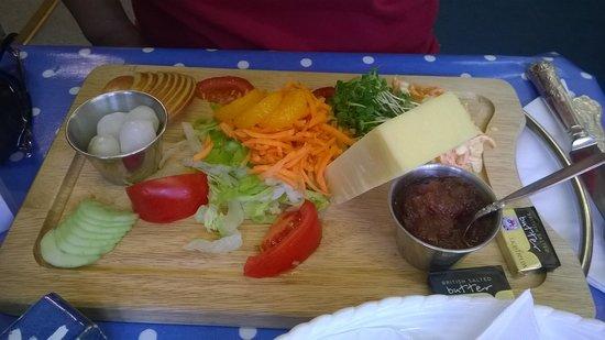 Emporium Tea Room: salad 2