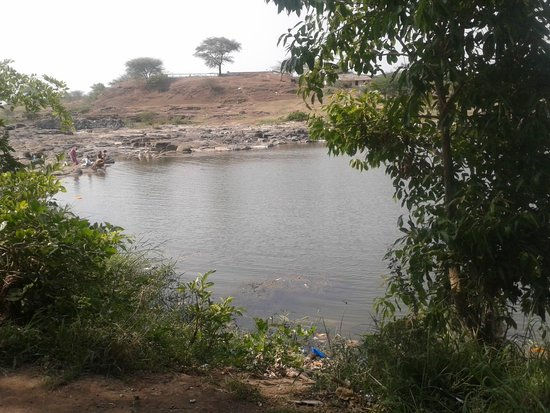 Someshwar Temple : godavari river in froont of temple