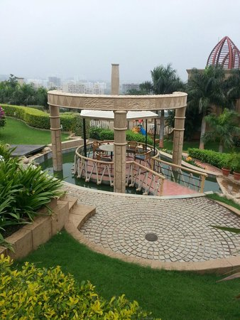 The Corinthians Resort & Club: Outdoor seating