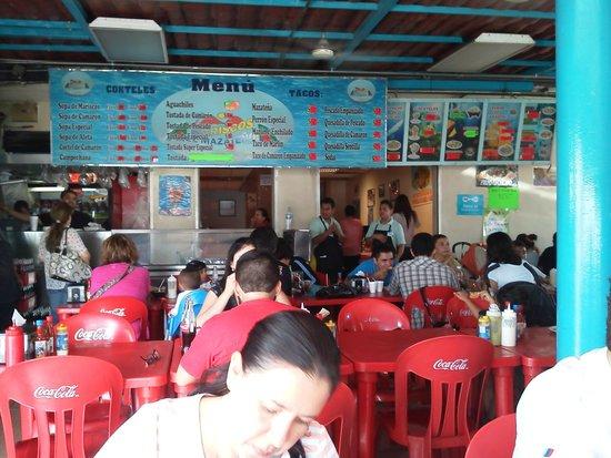 El Mazateno: Comedor