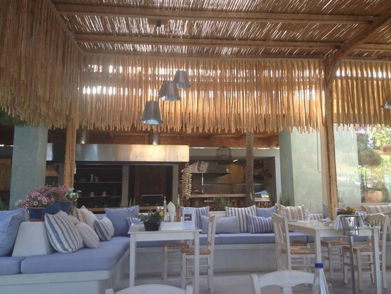 Out of the Blue Capsis Elite Resort : The Seasalt restaurant