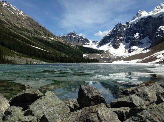 Moraine Lake: Consolation Lake