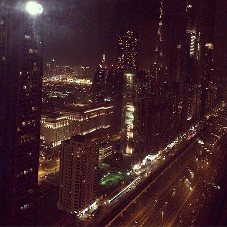 Millennium Plaza Hotel Dubai: Sheikh Zayed View