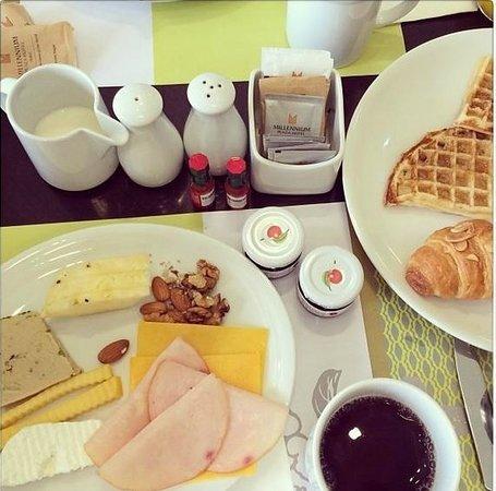 Millennium Plaza Hotel Dubai: Yummy Breakfast