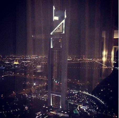 Millennium Plaza Hotel Dubai: Emirates Towers view