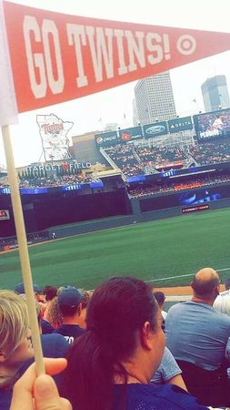 Target Field: Our Seats for the Game