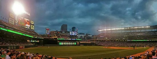 A Panoramic View of Target Field