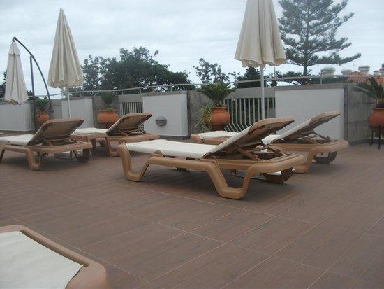 Hotel Madeira: Sun deck