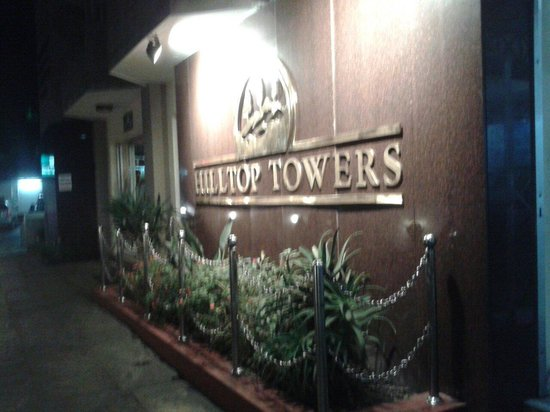 Hilltop Towers: front view