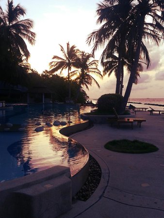 Royal Island Resort & Spa: Purple magic