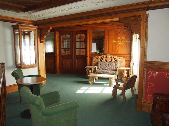 Riffelalp Resort 2222 m: ホテルの廊下です。