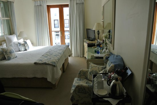The Plettenberg Hotel: Our Room - somewhat small
