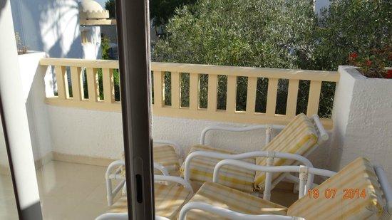 Hotel Palace Hammamet Marhaba: Веранда