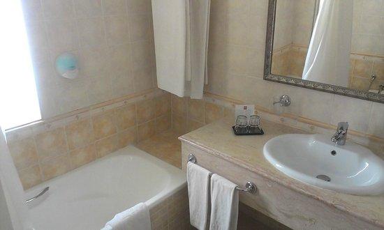 Hotel Palace Hammamet Marhaba: Ванная