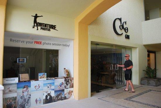 Marquis Los Cabos All-Inclusive Resort & Spa: Photo shop and Coco Cafe