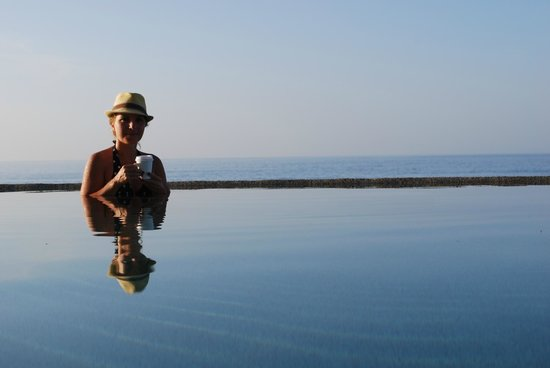 Marquis Los Cabos All-Inclusive Resort & Spa: Latte in the pool