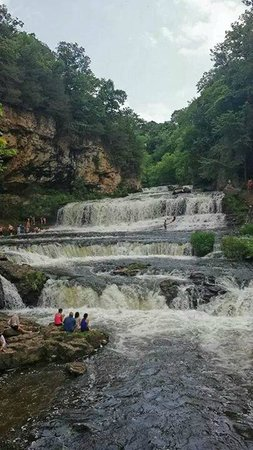 Willow River State Park: Willow Falls