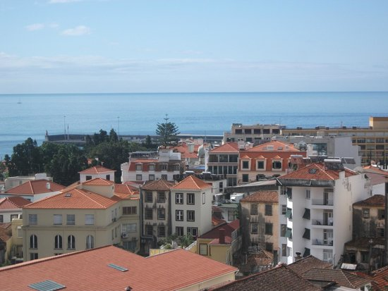 Hotel Madeira: View from roof top