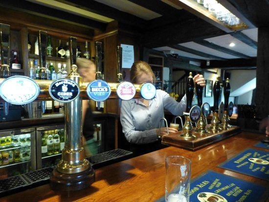 The Pheasant Inn: Friendly service
