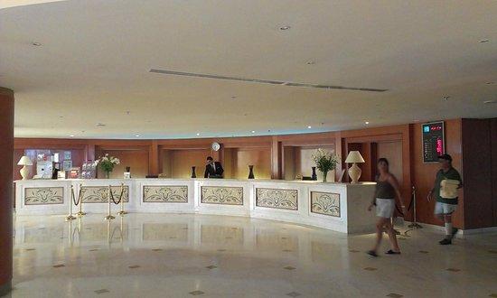 Hotel Palace Hammamet Marhaba: Лобби
