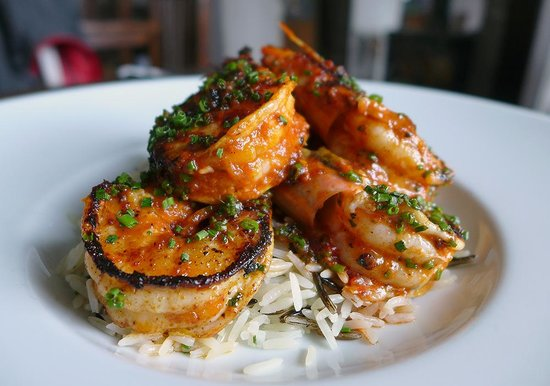 The Inn at Ravenglass: Tandoori Tiger prawns