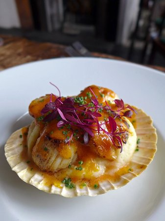 The Inn at Ravenglass: Scallops