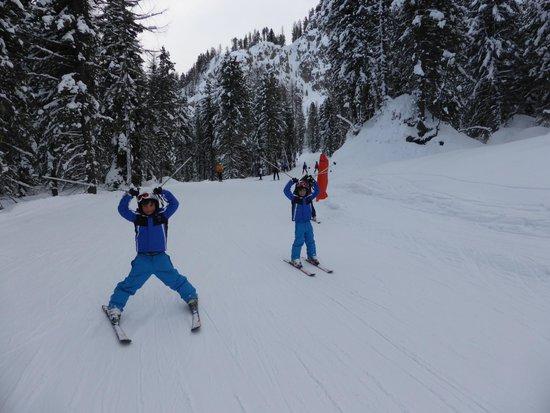 Soggiorno Dolomiti: la scuola sci