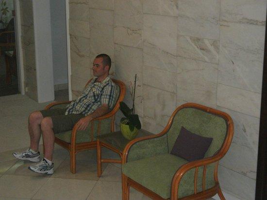 Hotel Madeira: Seating area