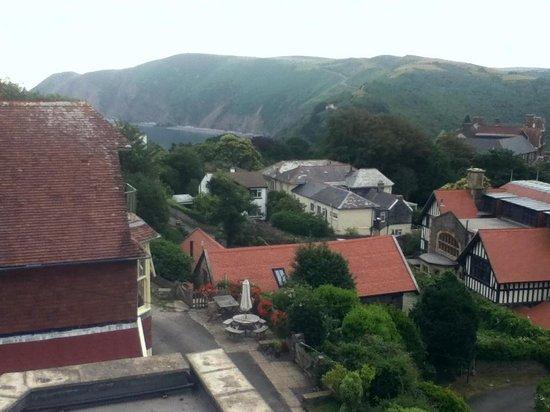 Rockvale: View from top floor window, looking to west