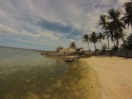Centara Villas Samui: plage de l'hotel