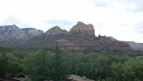 L'Auberge de Sedona: View from the Suite