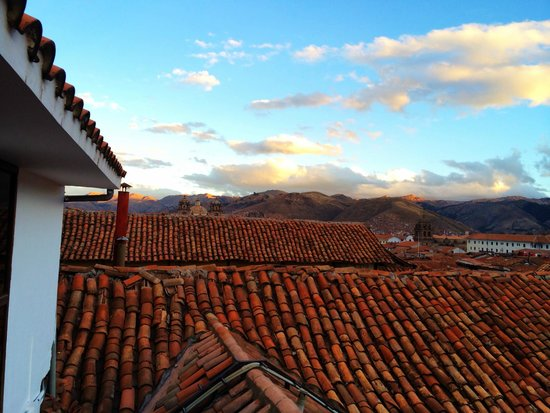 Tierra Viva Cusco Plaza: Cool view from the room