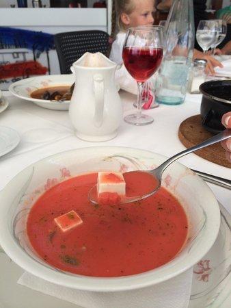 Restaurante Rincon de Pepe: Суп из арбуза