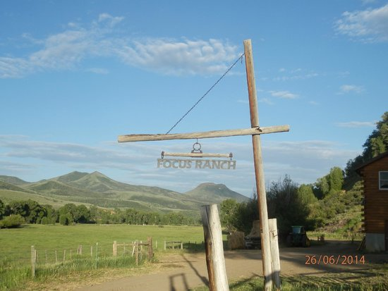 Focus Ranch: View of the area