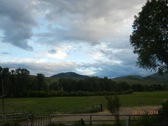 Focus Ranch: View from the Ranch yard