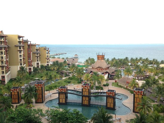 Villa del Palmar Cancun Beach Resort & Spa: View from our room - peaceful and marvelous!