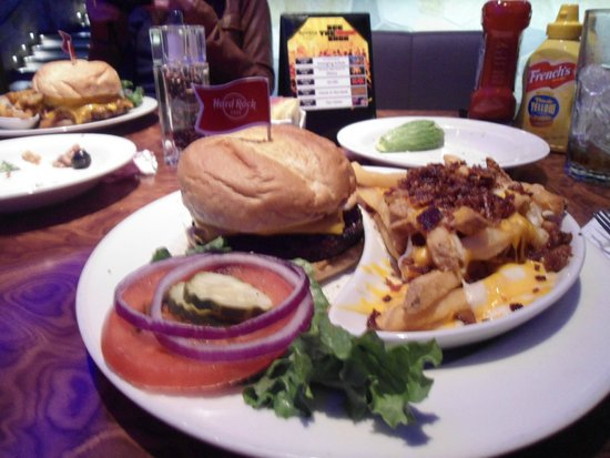Hard Rock Cafe: Lanche