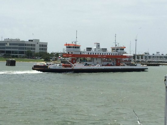 Galveston - Port Bolivar Ferry: A Ferry