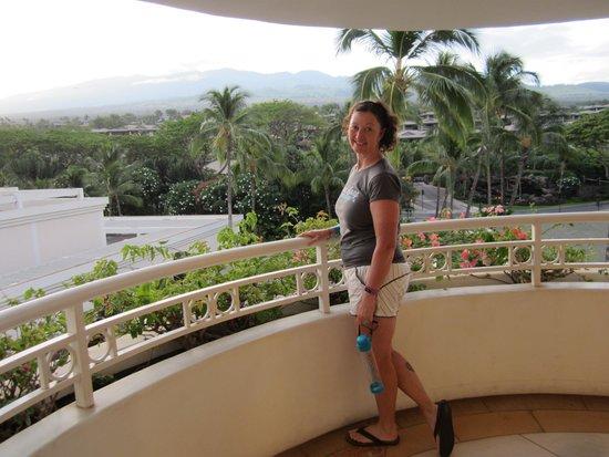 Grand Wailea - A Waldorf Astoria Resort: Our balcony