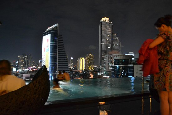 Eastin Grand Hotel Sathorn: Infinity pool