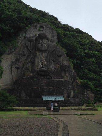 Nokogiriyama Nihonji Tenbodai: Daibutsu 31m high
