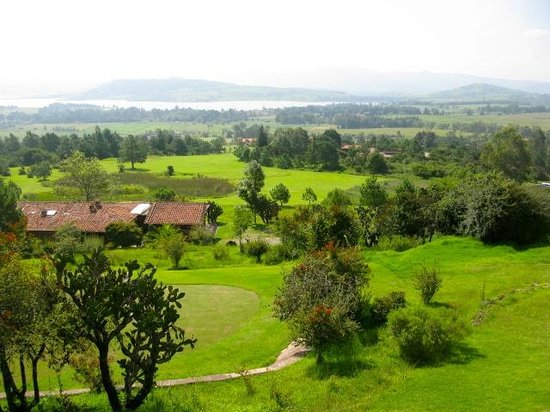 Hotel Tapalpa Country Club : Vista del restaurante y mirador del Tapalpa Country Club