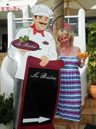 Los Cristianos : Le Bistro and Pauline