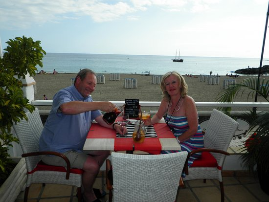 Los Cristianos : Happy days and great Sangria