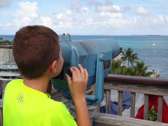 Key West Shipwreck Treasure Museum : tower view